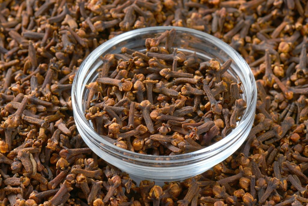 Bowl of dried cloves